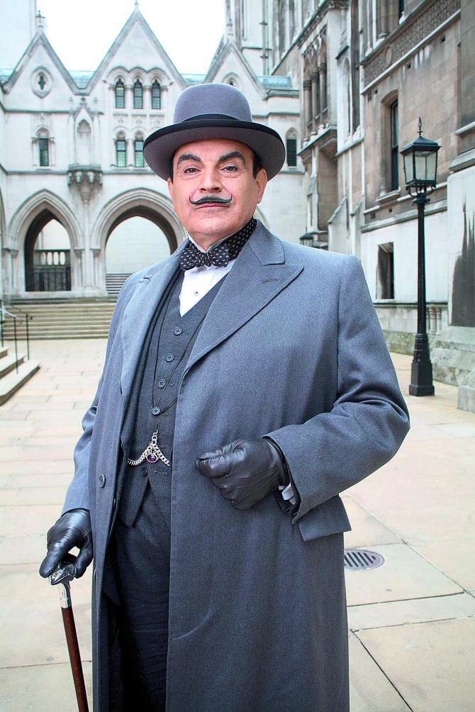 Dejvid Suše maestralno je glumio Poaroa 25 godina