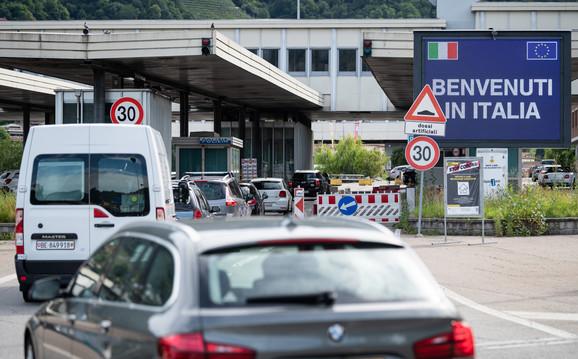 Granica između Švajcarske i Italije