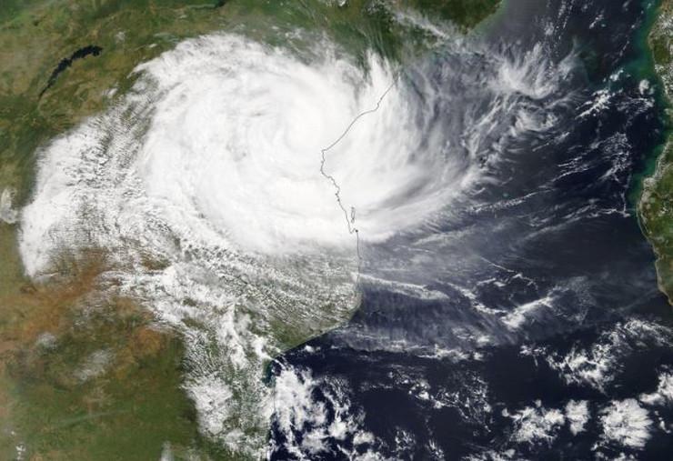 Mozambik ciklon NASA Epa
