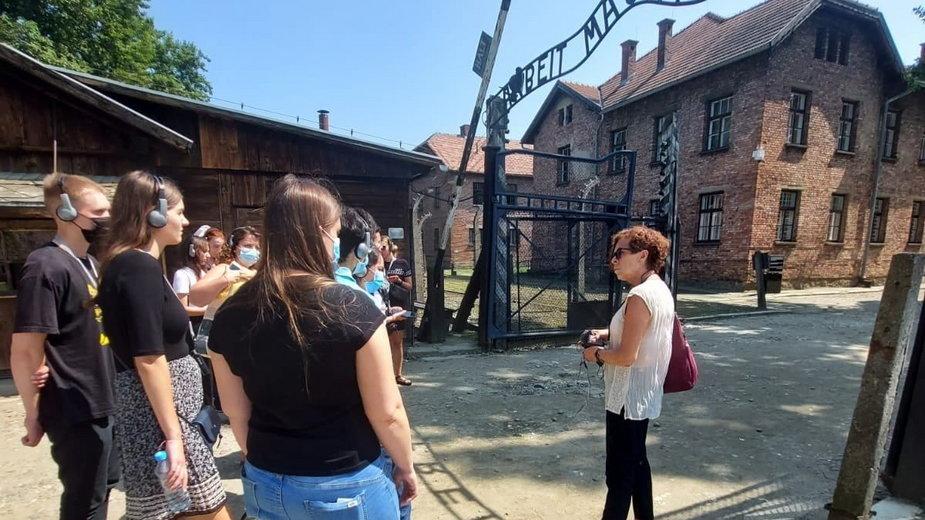 Młodzi ludzie z sześciu krajów odwiedzili Auschwitz