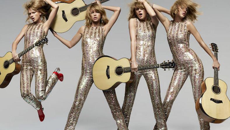 """Taylor Swift urodziła się 13 grudnia, a liczbę, której obawiają się wszyscy przesądni, uznaje za wyjątkowo szczęśliwą. Jej życie i kariera pokazują, że faktycznie prawdziwa z niej szczęściara. Jako trzynastolatka zwróciła na siebie uwagę wytwórni fonograficznej. Jej debiutancki album zdobył status złotej płyty w ciągu trzynastu tygodni od premiery. Trzynaście piosenek znalazło się na jej płycie """"Fearless"""", dzięki której trafiła do Księgi Rekordów Guinnessa. Na ceremoniach rozdania nagród sadzana jest – na własne życzenie – w trzynastym rzędzie na miejscu numer trzynaście. Liczbę trzynaście wypisuje na przegubie dłoni przed wejściem na estradę. Nawet jej konto na Twitterze ma w nazwie trzynastkę. Patrząc na jej dotychczasową karierę można śmiało stwierdzić, że Taylor Swift urodziła się nie tyle pod szczęśliwą gwiazdą, co pod szczęśliwą trzynastką."""
