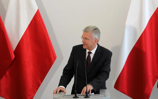 O sprawę spytano na wtorkowym briefingu w Senacie marszałka Karczewskiego.