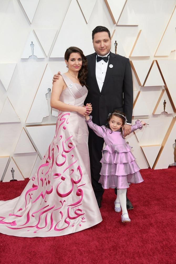 Sama sa roditeljima na Oskaru 2020.