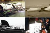 kolaž avionske nesreće