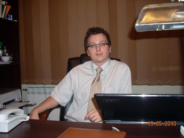 Rafał Kornat, adwokat kościelny z Kancelarii Prawa Kanonicznego Kornat