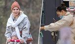 Maja Bohosiewicz bez maseczki spędza czas z dzieciakami, Klaudia Halejcio nie zakrywa nosa w markecie