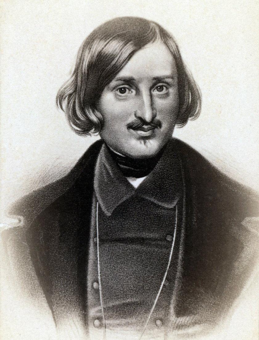 Rosyjski pisarz Mikołaj Gogol