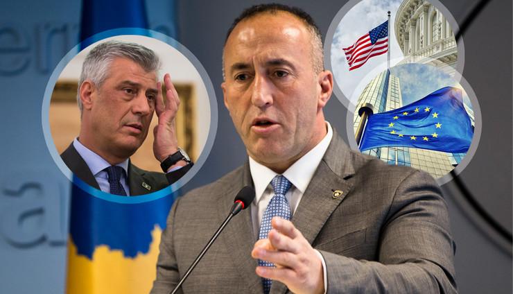 Svi Haradinajevi frontovi - kači se sa svima, ostaje usamljen po pitanju taksa