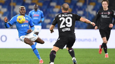 Nigerian strikers Simy Nwankwo and Victor Osimhen score in Sunday Serie A games