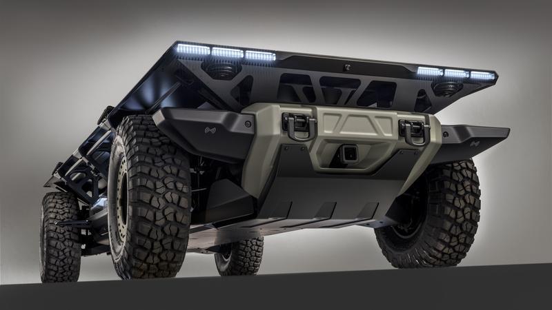 GM Surus czyli ogniwa paliwowe i silniki elektryczne. Wszystko bez kierowcy
