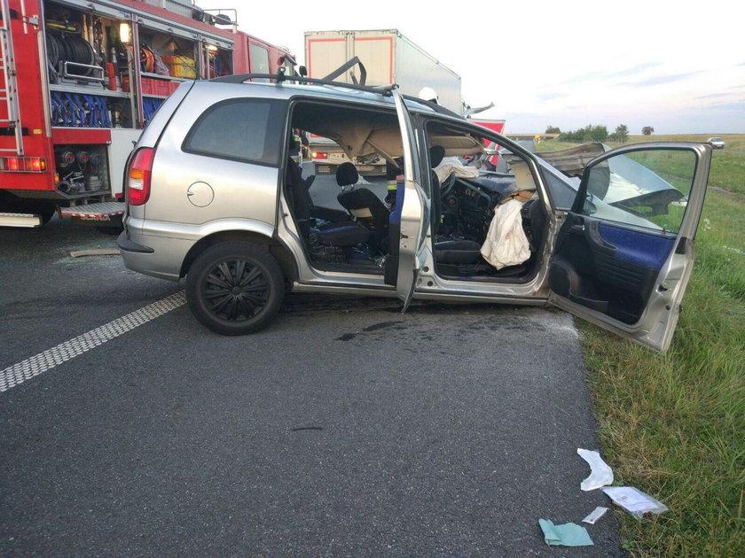 Tragedia na autostradzie