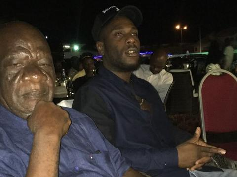 Burna Boy's grandfather is sure of a Grammy award win