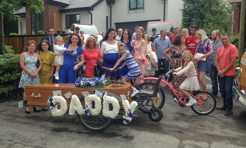 Nietypowy pogrzeb w Wielkiej Brytanii