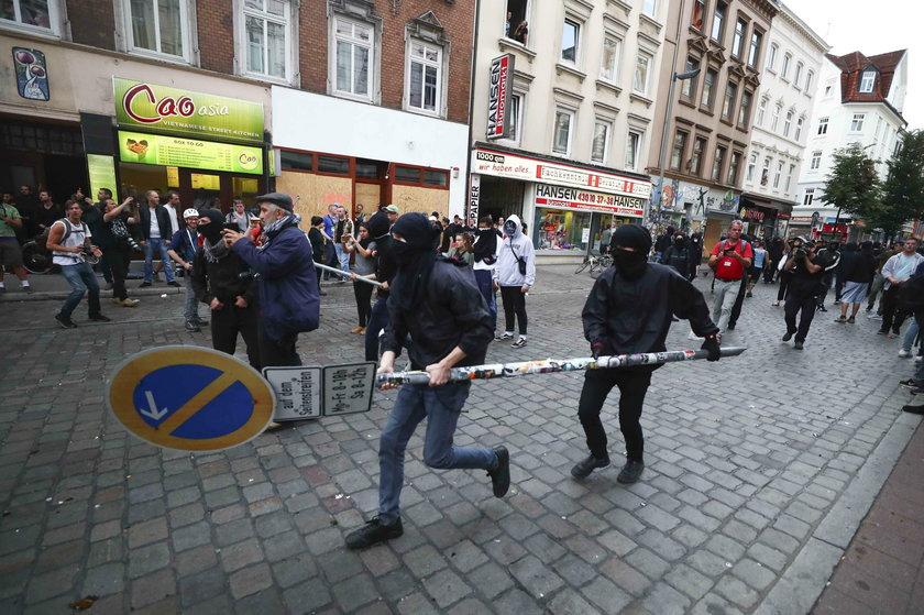 Polak skazany po zamieszkach w Hamburgu