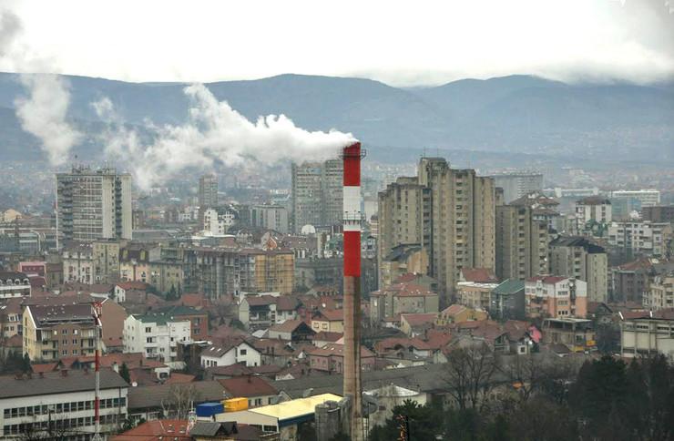 Gradska toplana u Nišu grejanje