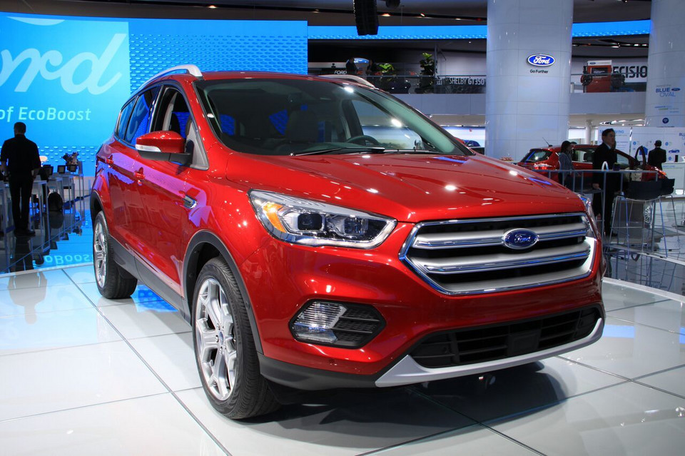 Detroit 2016 - Ford Escape czyli Kuga po lifcie