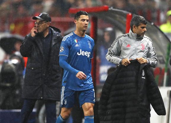 Kristijano Ronaldo i Mauricio Sari