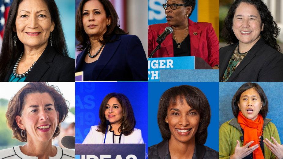 Wśród nominowanych przez prezydenta Bidena jest wiele pionierek – po raz pierwszy obejmujących stanowiska zarezerwowane dotąd dla mężczyzn
