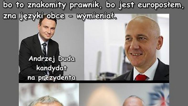 Andrzej Duda jest kandydatem PiS na prezydenta. Joachim Brudziński tłumaczy, dlaczego on, a nie prezes Kaczyński.