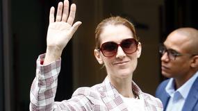 Celine Dion w garniturze w kratę. Co ona na siebie założyła?!