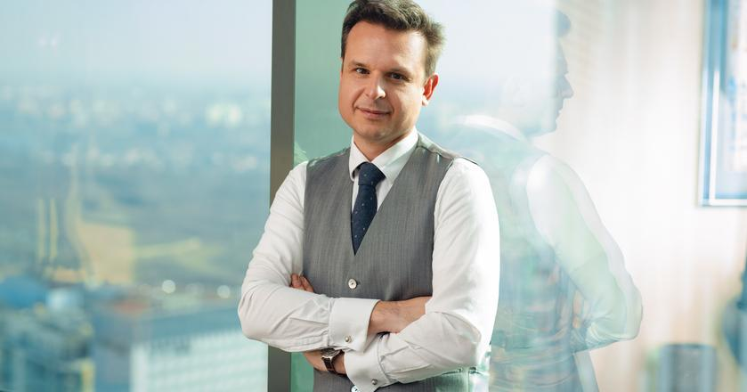 Dimitris Raptis, co-CEO i CIO Globalworth Poland