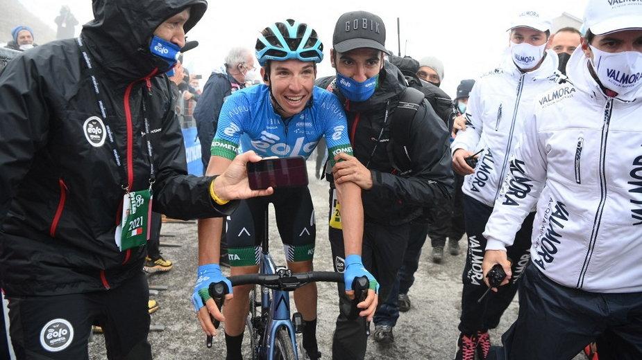 Lorenzo Fortunato jest jednym z faworytów wyścigu