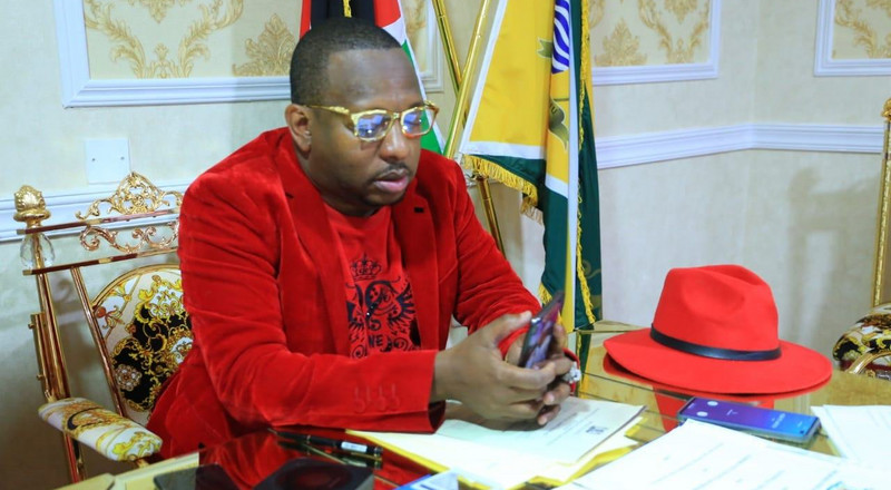 Power comes and goes – Sonko's late night message to individuals working at Harambee House