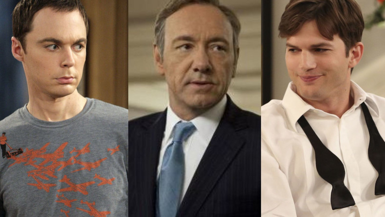 Jim Parsons, Kevn Spacey, Ashton Kutcher