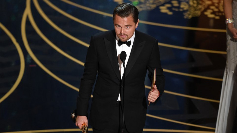 "Leonardo DiCaprio finally won his first ever Oscar taking home the ""Best Actor in a Leading Role"" award"