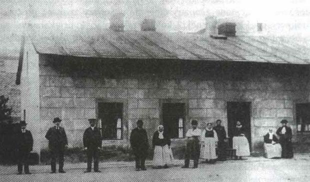 Zagroda bamberska koniec XIX w.