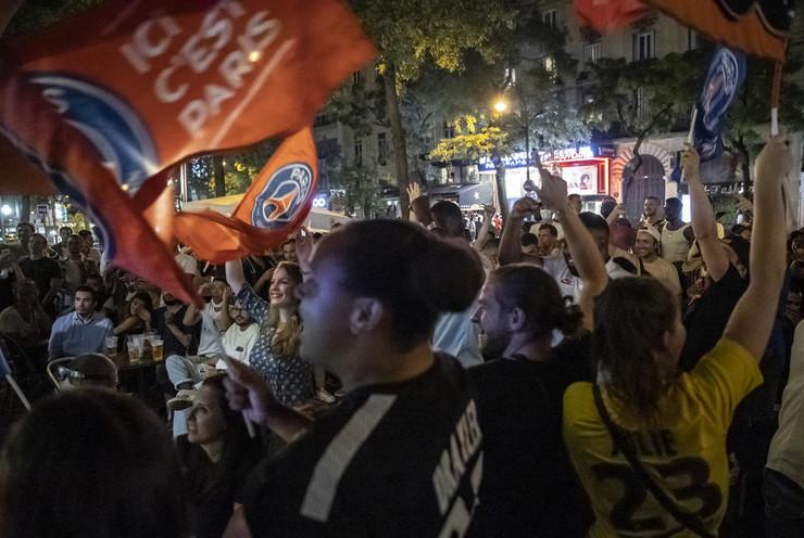 Slavlje navijača PSŽ-a