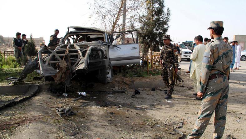 Wybuch bomby w Afganistanie