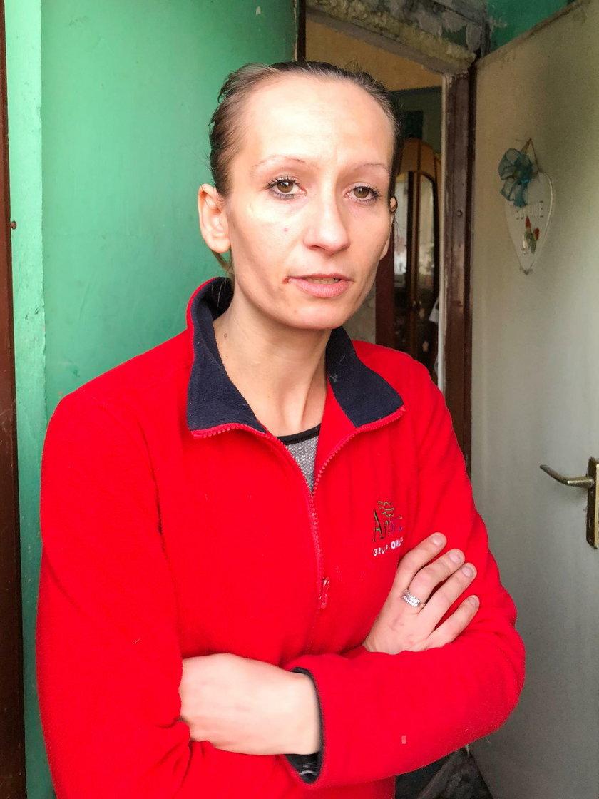 Katarzyna Berger (32 l.), mama Julki i Kacpra