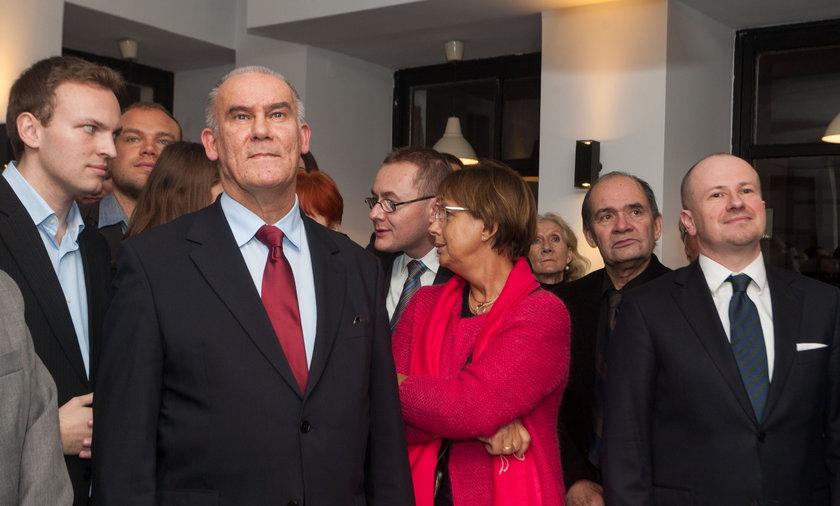 wieczór wyborczy w POznaniu