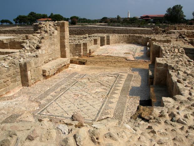 Wykopaliska w Pafos, Cypr