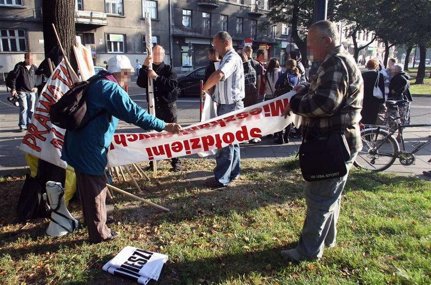 Pikiety zablokują centrum