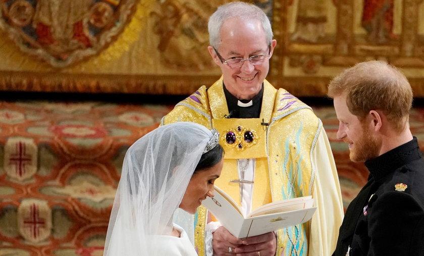 Tajnego ślubu nie było! Arcybiskup Cantenbury demaskuje kłamstwo Meghan i Harry'ego