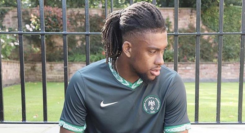 Alex Iwobi has missed Super Eagles' game against The Benin Republic (Twitter/Super Eagles)