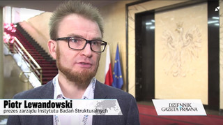 Lewandowski: 166 tys. samozatrudnionych w Polsce pracuje tylko dla jednego podmiotu