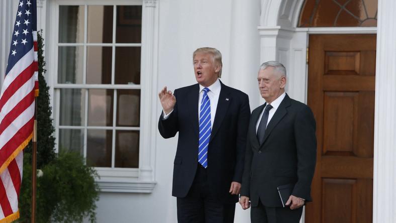 Donald Trump i James Mattis