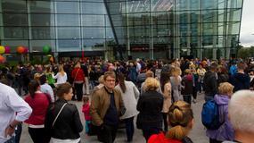 Tłumy na otwarciu nowej galerii handlowej