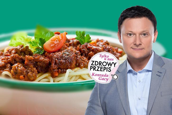 Razowe Spaghetti Z Wołowiną Konrada Gacy