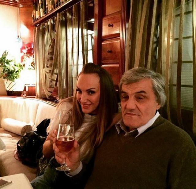 Goge Sekulić sa ocem