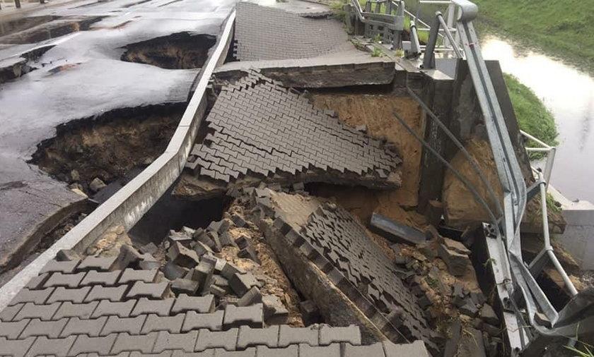 Fatalne skutki ulewy w Gdyni