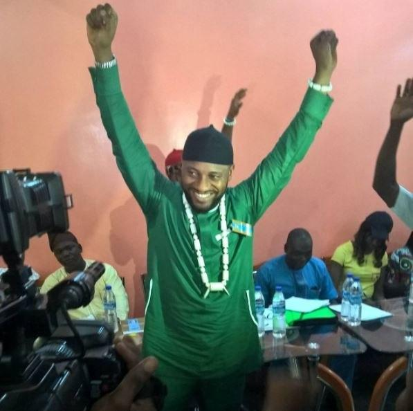 Yul Edochie wins gubernatorial primary election for Anambra 2017