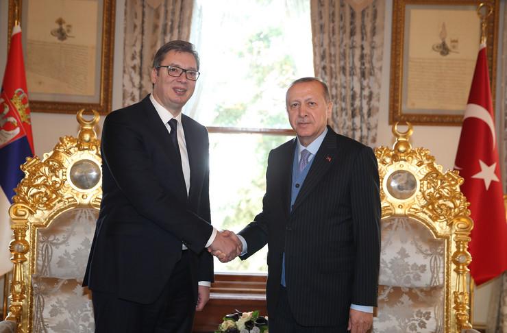 Aleksandar Vučić, Bakir Izetbegović, Redžep Tajip Erdogan