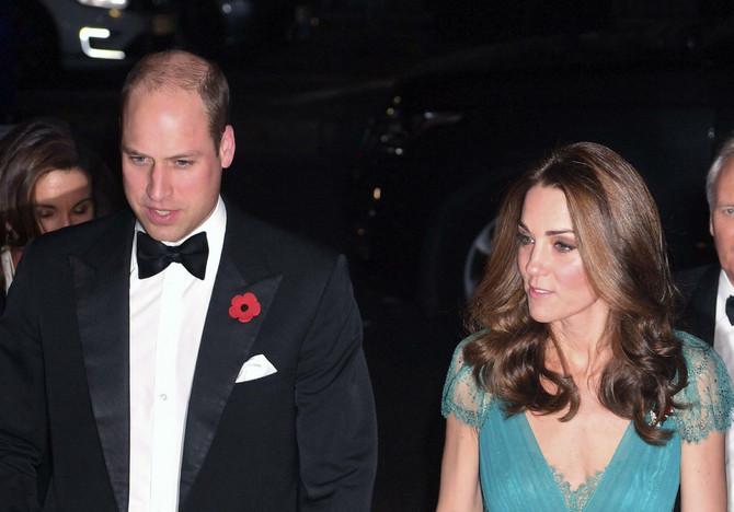 Vojvotkinja i vojvoda od Kembridža večeras u Londonu