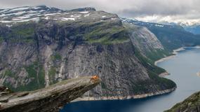 Polak potrafi - ekstremalny wypoczynek na norweskich klifach