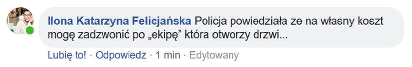 Facebook Ilony Felicjańskiej