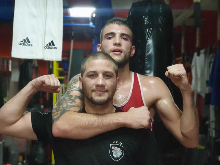 Sandro Poletan i Veljko Ražnatovic
